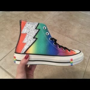 BRAND NEW NWT PRIDE CONVERSE ALL STARS HIGH TOPS
